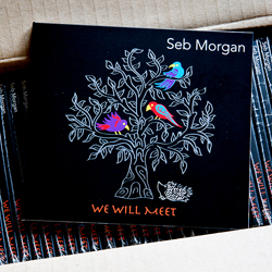 Seb Morgan's second EP We Will Meet (hard copy)